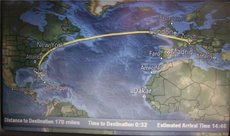 Flug New York London Rekord